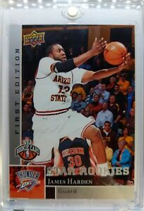 2009-09-10-UPPER-DECK-FIRST-EDITION-James-Harden-ROOKIE-RC-188-SP-Parallel