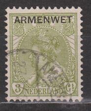 D5 Dienstzegel 5 armenwet used gest. NVPH Netherlands Nederland Pays Bas COUR