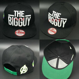 NEW-Kim-Jong-Koo-HULK-THE-BIG-GUY-LOGO-SNAPBACK-Unisex-baseball-KPOP-CAP-HAT