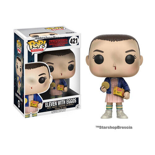 POP Eleven With Eggos Vinyl Figure Funko Television #421 Stranger Things