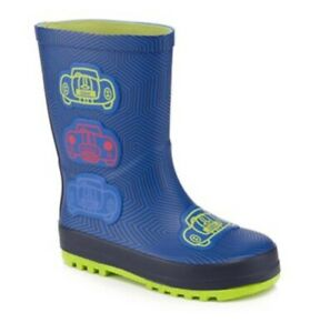 Boys Ted Baker Wellies Navy Blue Size 5