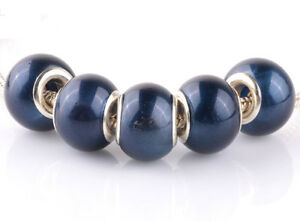 5pcs-silver-pearl-Cymbidium-spacer-beads-fit-Charm-European-Bracelet-DIY-AB920