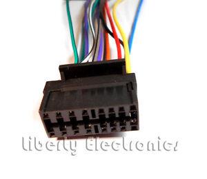 new wire harness for sony cdx 4000 cdx 4000x cdx 4005 ebay Painless Wiring Harness at Sony Cdx 4000x Wiring Harness