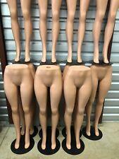 Plastic Unbreakable Female Mannequin Legs Brazilian Hips Roxy Display Ps Lg101