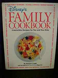 disney s family cookbook family fun magazine recipes ebay