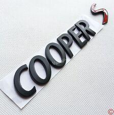 New Black Metal Letter Rear Trunk Hatch Emblem Badge for BMW MINI Cooper Red S