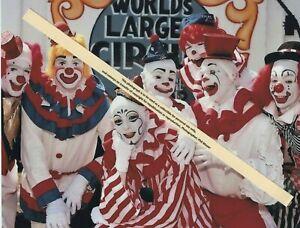 1985 Clyde Beatty Cole Bros Circus Clown Alley