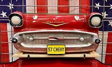 1957 Chevrolet Bel Air Resin Wall Shelf, Red