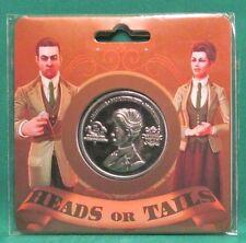 "BioShock Infinite Robert & Rosalind Lutece Twins Collectible Coin 1.5"" Official"