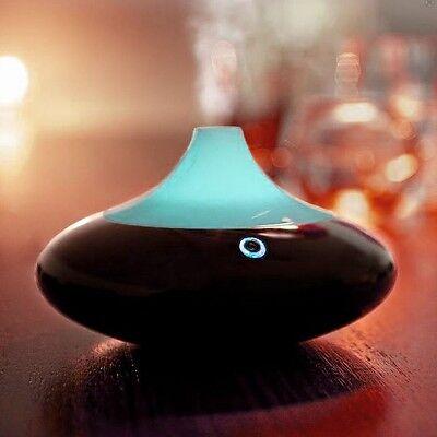 ZAQ Dew LiteMist Air Aromatherapy Essential Oil Diffuser - Black
