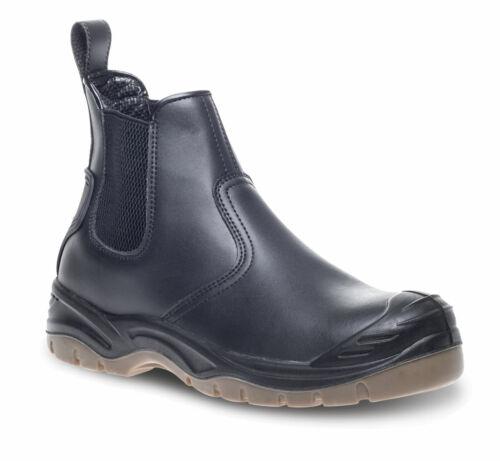 Apache AP714SM S3 SRA black leather steel toe//midsole safety dealer boot shoe