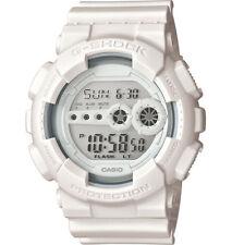 Casio GD100WW-7 Men's Monotone All White World Time Alarm Chrono G Shock Watch
