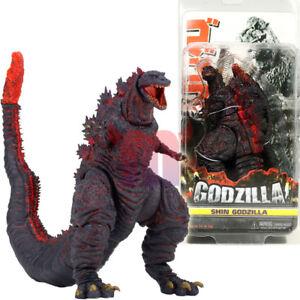 NECA-Shin-Red-Godzilla-6-034-Action-Figure-Kaiju-12-034-Head-Tail-Movie-Classic-2016