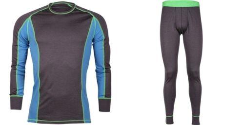 MARATHON dual layer Shirt+leggings Set Base Layer 62/% Merino wool Mar1,Mar2