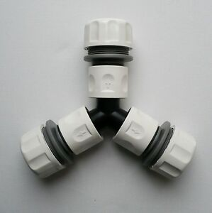 A-Scatto-3-Vie-Tubo-Separatore-Giunto-per-1-034-tubo-c-w-3-1-034-Connettori-Tubo