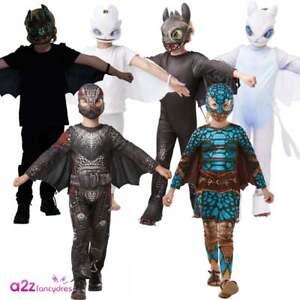 Girls Glow In Dark Light Fury How To Train Your Dragon 3 Fancy Dress Costume Kit