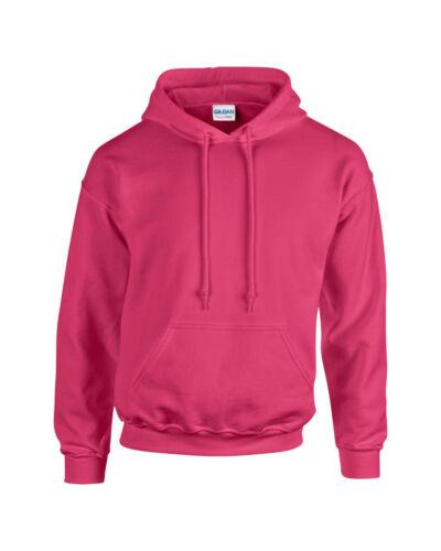 Heliconia Gildan Plain Hooded Heavy Blend Sweatshirt Pullover mens hoodie