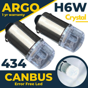 For Bmw 3 Series F31 F30 F34 Led Xenon White Canbus Side Light Bulbs 12v