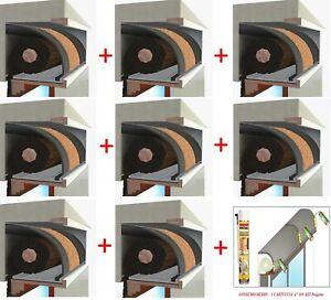 Isolamento Acustico Cassonetti Avvolgibili.Dettagli Su Pacchetto Stock Cassonetto Tapparelle Kit Plus Sughero Acustico Isolamento 1mt