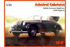ICM 35471 1/35 Admiral Cabriolet WWII German Staff Car with Figures