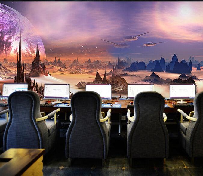 3D Schönheit Universums 13 Fototapeten Wandbild Fototapete BildTapete Familie DE