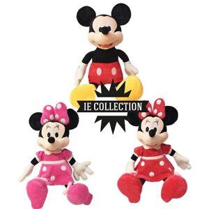 TOPOLINO E MINNIE PELUCHE 40 CM PUPAZZO Mickey Mouse disney paperino plush doll