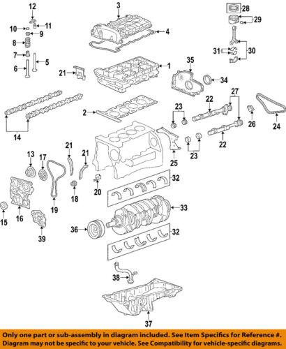 GM OEM-Valve Cover Gasket 12591634