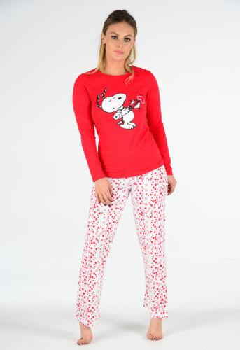 Ladies Long Sleeve Snoopy Pyjama Set PJ/'s Night SALE SALE SALE