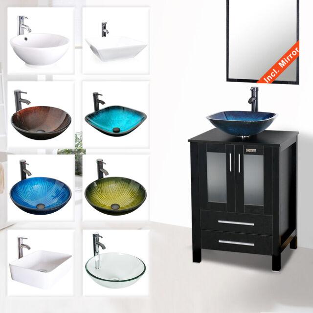 28 Bathroom Vanity Single Wood Cabinet