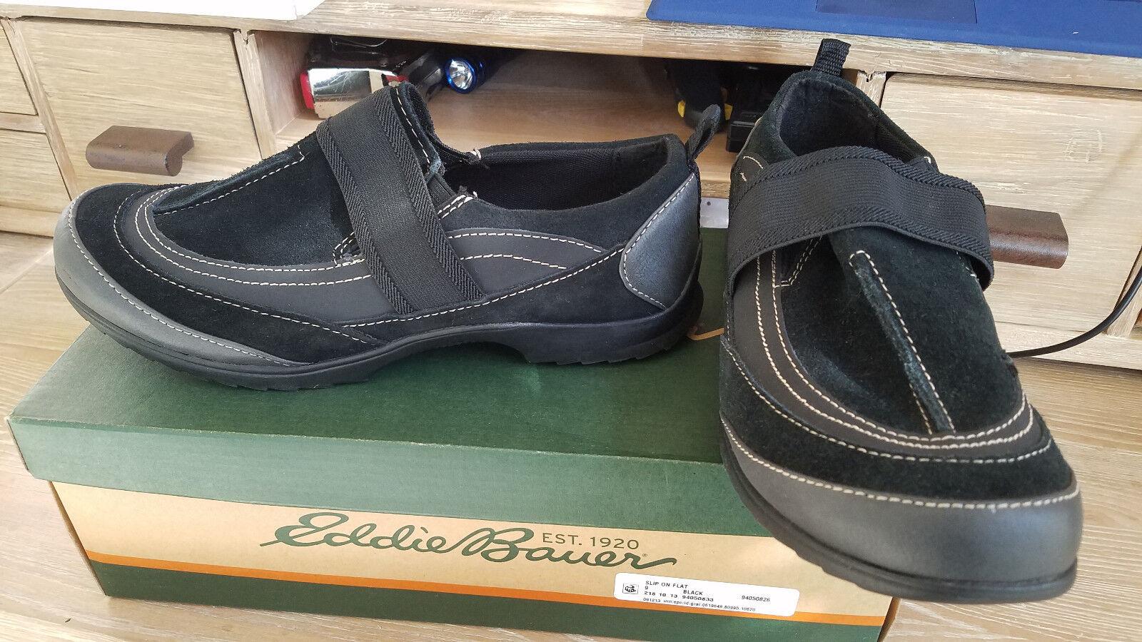 Eddie Bauer para Mujer FE Negro Resbalón en Zapatos Tallas Tallas Tallas   nuevo En Caja  comprar ahora