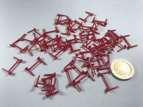 X585 h0 25 unid Herpa albedo soporte tija de sillín rojo para enchufar f hummer