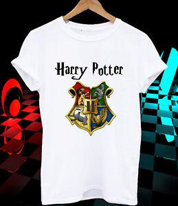Harry Potter T-shirt Hogwarts logo movie christmas gift ...