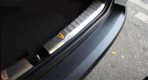 Steel Inner Rear Bumper Protector Scuff Plate Cover 2pcs For Honda CRV 2012-2016