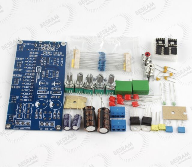 Original NE5532 Pre-amplifier board double-sided PCB board with 220V