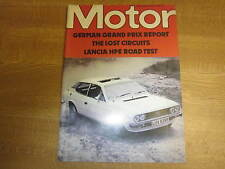 August 7th 1976, MOTOR, Lancia Beta HPE, Vauxhall Cavalier, Russell Brookes.
