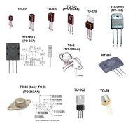2sa49 (qty 1) Toshiba Germanium Transistor