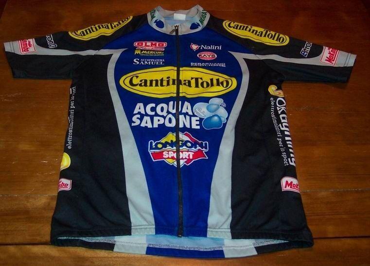 CANTINA TOLLO HOLIDAY NALINI  LONGONI SPORT Cycling Bike Jersey SIZE MEDIUM