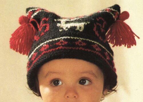 DK Knitting Pattern Gorgeous Boys Scandinavian Style Jacket /& Hat 210