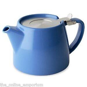 Blue-FORLIFE-theiere-en-feuille-amp-Infuseur-18-oz-530ml-2-tasse-pour-la-vie