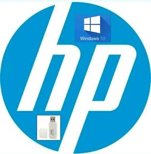Details about HP Windows 10 Home USB System Recovery Media Disk Drive