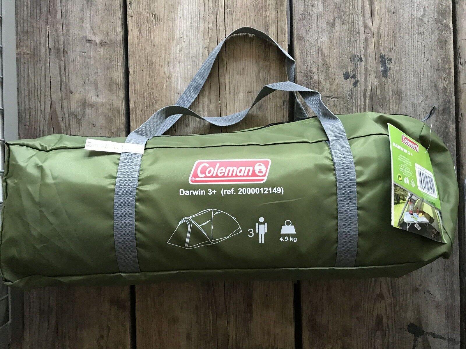 Coleman Darwin 3 Plus Adventure Zelt 2000012149