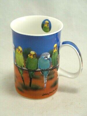 Parakeet Budgie Fine Bone China Mug By Ashdene Natalie Jane Parker 2005 Ebay
