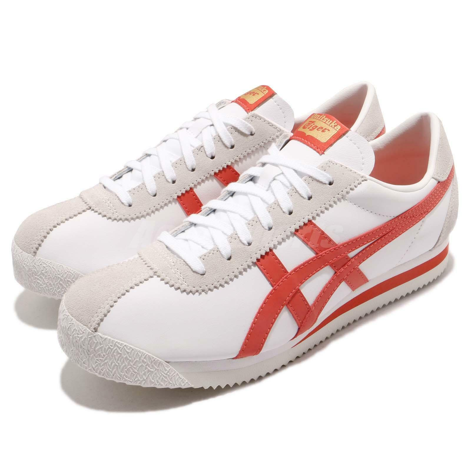 Asics Onitsuka Tiger Corsair White Paprika Men Running Shoes Sneakers D7J4L-0122