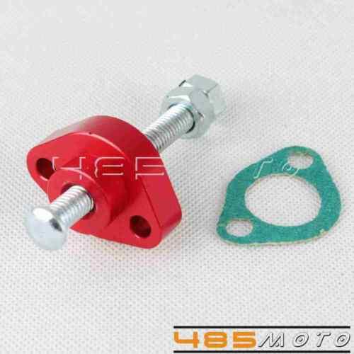 Pair Red Manual Cam Chain Tensioner Adjuster For 97-05 Honda VTR1000F//SuperHawk