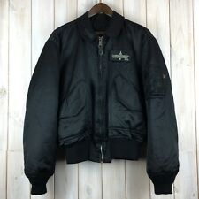 Vintage Concord USA USAF CWU MA-2 Flying Bomber Army Flight Jacket MA2 MA1 XL
