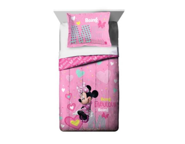 Complete bedding a Piazza caleffi Minnie Happy Disney