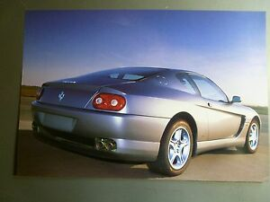 1998 Ferrari 465 M GT Coupe Print, Picture, Poster, RARE!! Awesome