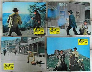 4-Aushangfotos-Todfeinde-Five-Card-Stud-Dean-Martin-Robert-Mitchum-1968