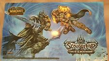 World of Warcraft Playmat / Mouse Pad - Scourgewar Icecrown Lich King