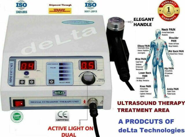 Best Active Ultrasound Therapy 1 Mhz Therapeutic With Elegant handle Machine